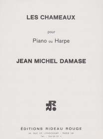 Damase: Les Chameaux for Piano or Harp Solo