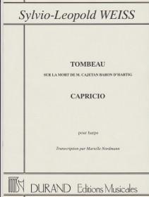 Weiss: Tombeau, Capricio pour Harpe