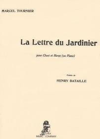 Tournier: La Lettre du Jardinier (Chant & Harp)