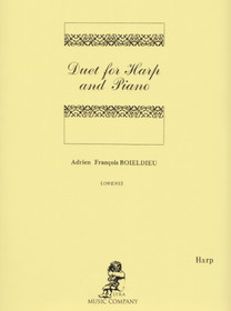 Boieldieu/Owens: Duet for Harp and Piano (harp part)