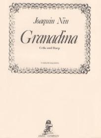 Nin/Salzedo: Granadina for Cello and Harp