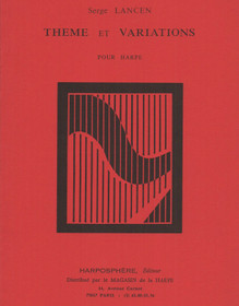 Lancen: Theme et Variations for Harp
