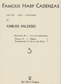 Donizetti/Salzedo: Famous Harp Cadenzas (Lucia di Lammermoor)