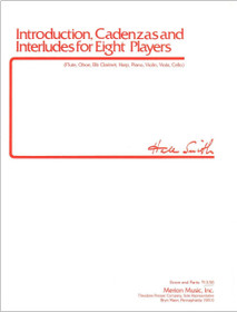 Smith: Introduction, Cadenzas and Interludes for Eight Players