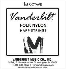 Vanderbilt Folk Nylon, 1st Octave Complete