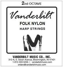 Vanderbilt Folk Nylon, 2nd Octave Complete