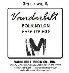 Vanderbilt Folk Nylon, 3rd Octave A