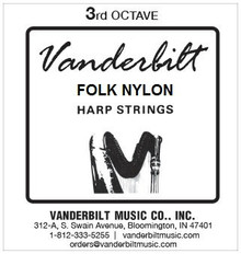 Vanderbilt Folk Nylon, 3rd Octave Complete