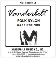 Vanderbilt Folk Nylon, 4th Octave D