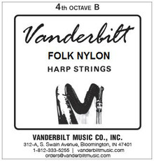 Vanderbilt Folk Nylon, 4th Octave B