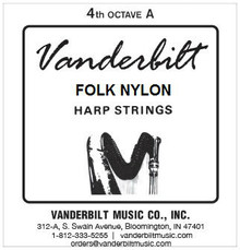 Vanderbilt Folk Nylon, 4th Octave A