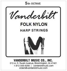 Vanderbilt Folk Nylon, 5th Octave Complete