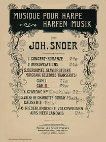 Snoer: Famous Piano Pieces, Vol. II (Beruhmte Clavierstucke)