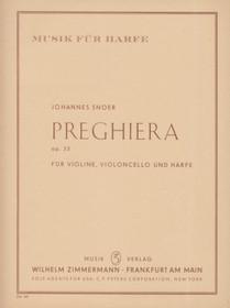 Snoer: Preghiera fur Violine, Violoncello und Harfe