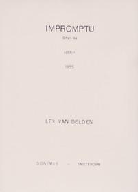 Van Delden: Impromptu, Op. 48