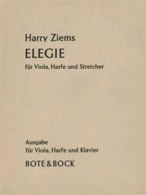 Ziems, Elegie (Viola, Harp, Piano)