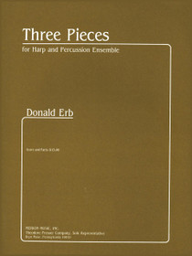 Erb: Three Pieces for Harp and Percussion Ensemble