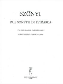 Szonyi: Due Sonetti di Petrarca