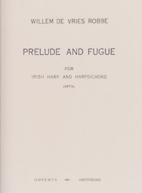 Robbe: Prelude and Fugue for Irish harp and Harpsichord