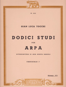 Tocchi, Dodici Studi (Ten Studies for the Harp)