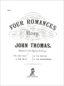 Thomas: Four Romances - No. 1 The Tear