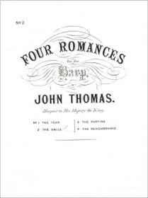 Thomas: Four Romances - No. 2 The Smile