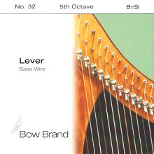 Lever Bass Wire, 5th Octave B