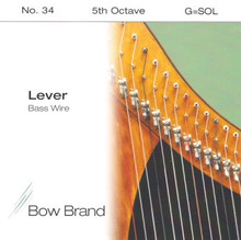 Lever Bass Wire, 5th Octave G