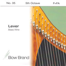 Lever Bass Wire, 5th Octave F