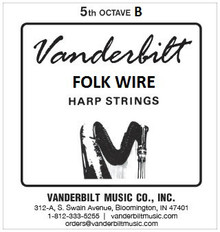 Vanderbilt Folk Wire, 5th Octave B