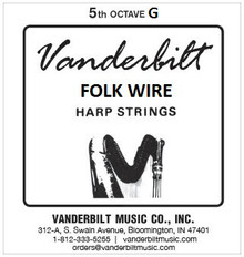 Vanderbilt Folk Wire, 5th Octave G