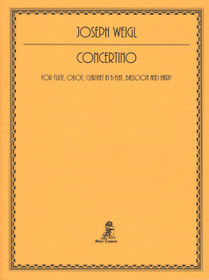 Weigl: Concertino for Flute, Oboe, Clarinet in Bb, Basoon, & Harp