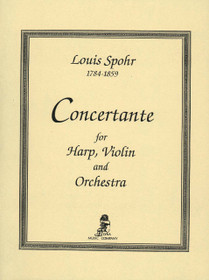 Spohr, Concertante (Violin, Harp and Piano Reduction)