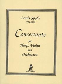 Spohr/Owens: Concertante (Violin Part, Harp Part and Piano Reduction)