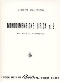 Cantarelli: Monodimensione Lirica n. 2