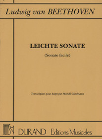Beethoven/Nordmann: Leichte Sonate (Sonate facile)
