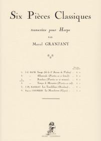 Bach/Grandjany: Six Pieces Classiques..No. 3 Rondeau (Partita en ut mineur), Rondeau (from the second Partita for violin)