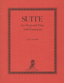 Fischer: Suite for Harp and Flute with Variations