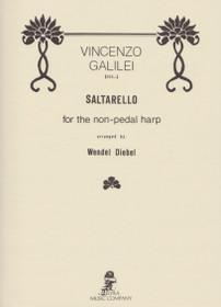 Galilei/Diebel: Saltarello for the non-pedal harp