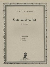 Gillmann: Suite im alten Stil (Harp Solo)