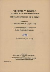 Haydn/Williams, Troed y Droell