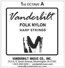Vanderbilt Folk Nylon, 1st Octave A