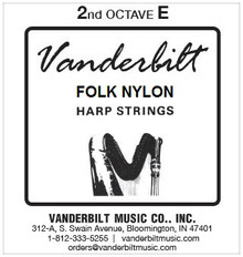 Vanderbilt Folk Nylon, 2nd Octave E