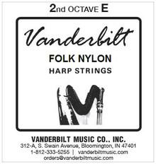 Vanderbilt Folk Nylon, 2nd Octave E