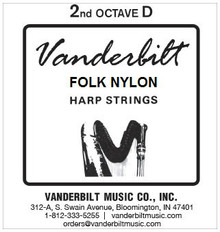 Vanderbilt Folk Nylon, 2nd Octave D