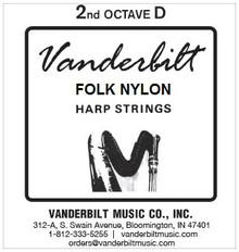 Vanderbilt Folk Nylon, 2nd Octave D