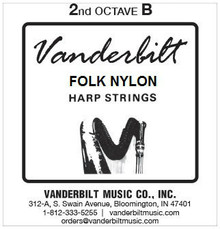 Vanderbilt Folk Nylon, 2nd Octave B