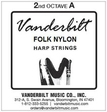 Vanderbilt Folk Nylon, 2nd Octave A