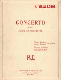 Villa-Lobos, Concerto for Harp and Orchestra (Piano Reduction)