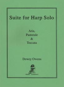 Owens: Suite for Harp Solo (Aria, Pastorale & Toccata)
